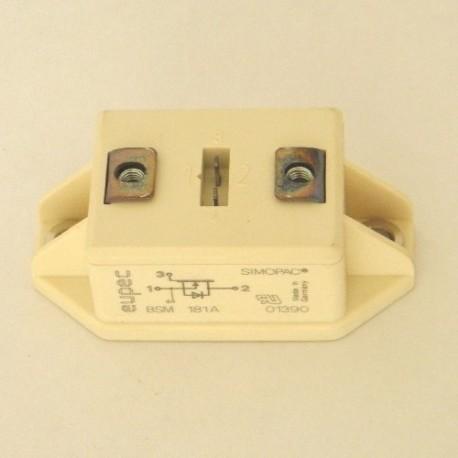 TRANSISTOR BSMI81-A + CONECTOR 85359000 EUPEC