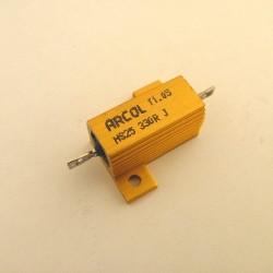 RESISTOR 300ohm 25W HS25 300R ARC 345-234FR