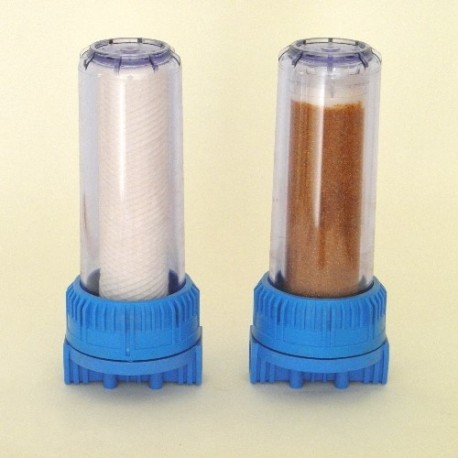 ROPE FILTER AND RESIN